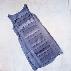 ADRIANNA PAPELL metallic dress